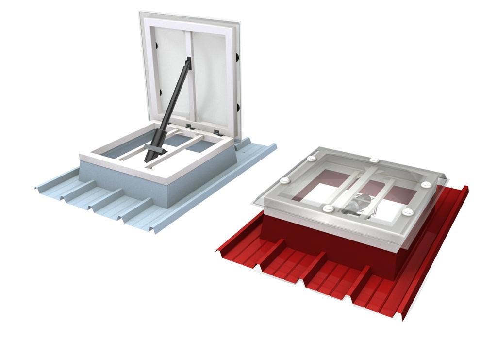 Xform efc sistemi d apertura docks docker for Lucernario elettrico